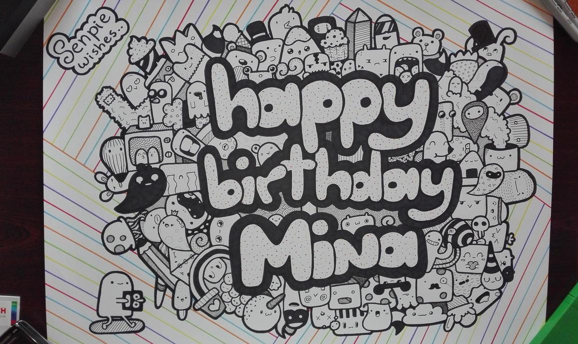 Doodle #14 Happy Birthday! By SenpieWasTaken On DeviantArt