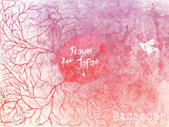 Pray For Japan by misiaclive