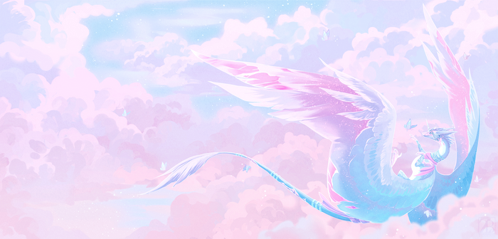 Commission - Above the Clouds