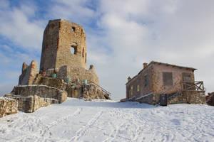 Castle of Csesznek III. by rembo78