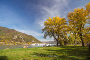 At the Danube in autumn by rembo78