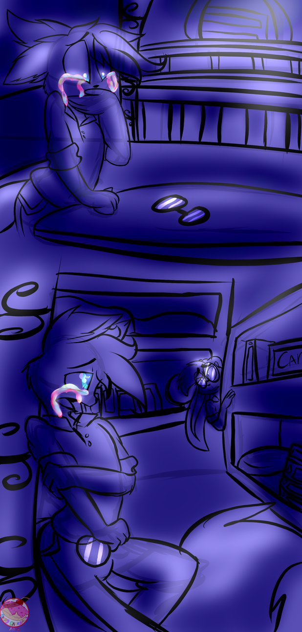 .:DigiSketchbook 5:. Pretty Tears by CrazyCakesunesART