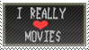 Love Movies Stamp by lolostamps