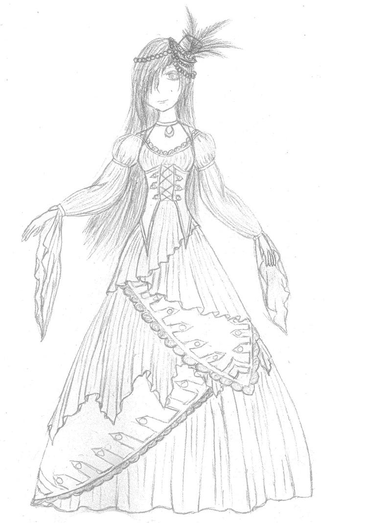 Pirate wedding dress -sketch- by Decorus-Somnium on DeviantArt