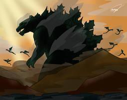 Godzilla Earth by ZyZa0123