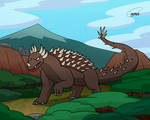 Gojira-thon Day 25: Anguirus