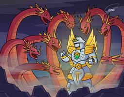 Kaiju-thon day 16: Yamato Takeru