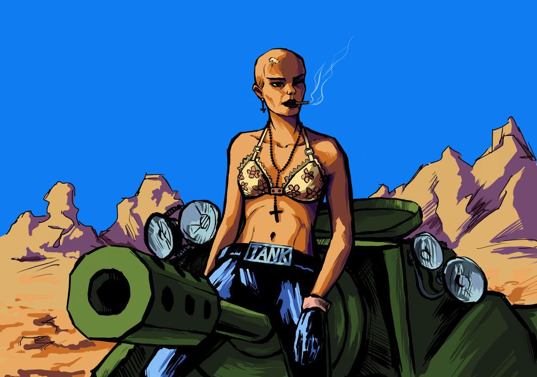 Tank Girl by AnastasiaMorning