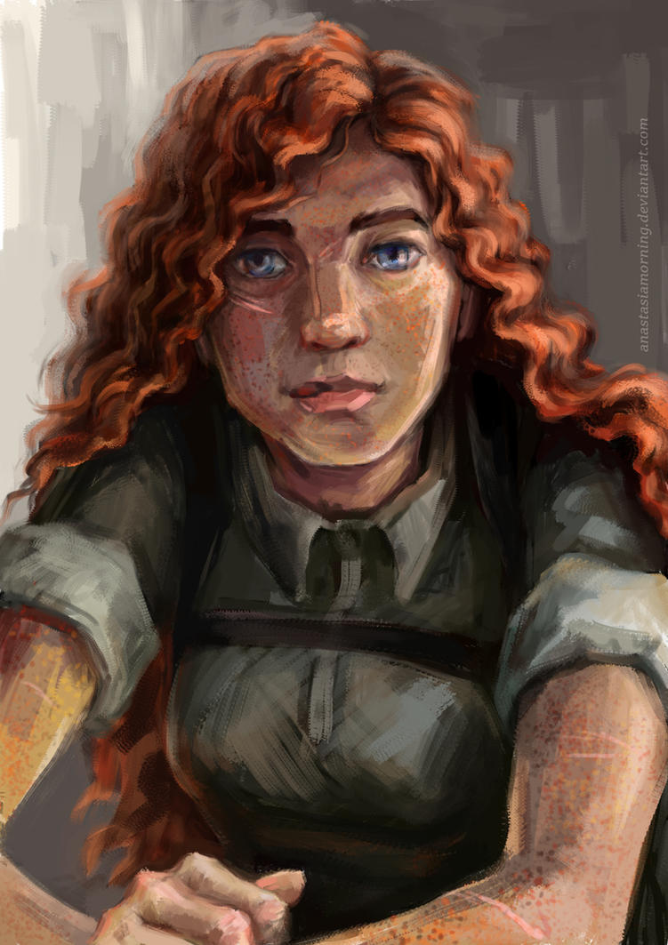Redhead by AnastasiaMorning