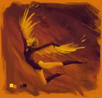 Magical Girl Icarus by AnastasiaMorning