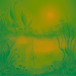 Alien Swamp Sketch by AnastasiaMorning