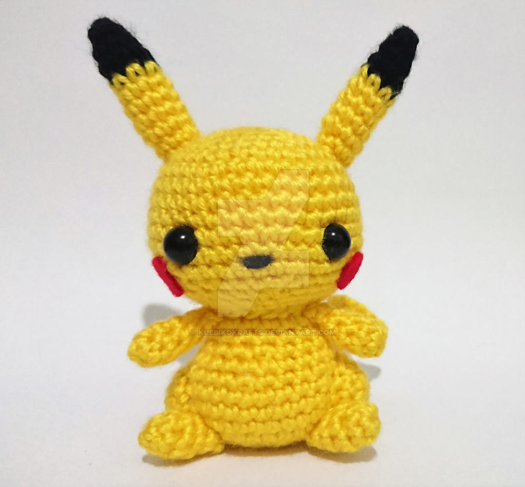 Pikachu-Inspired Crochet Pattern | FaveCrafts.com | 949x1024