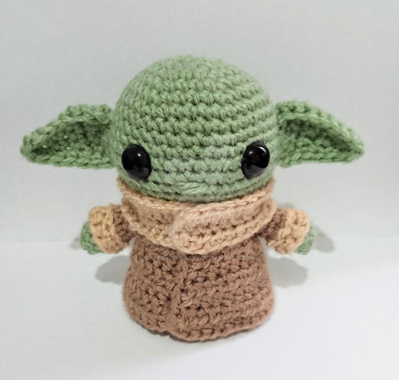 FREE AMIGURUMI PATTERN: Star Wars Yoda | | 762x800