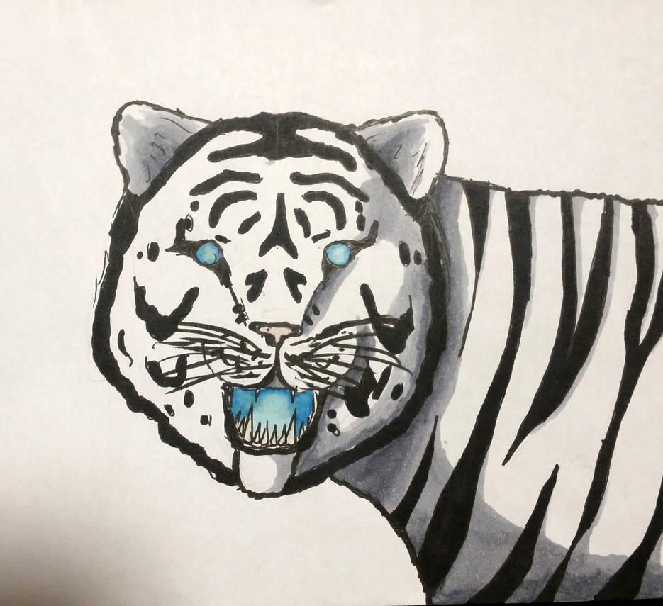 Water tiger by shyrox7