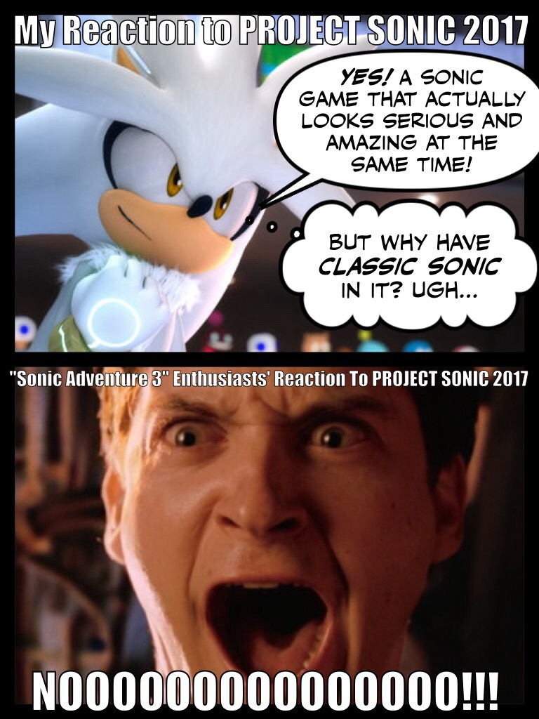 Project Sonic 2017 Reactions by santiags101 on DeviantArt