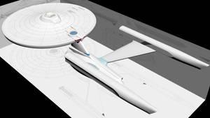 USS Enterprise NCC-1701-A Wip4