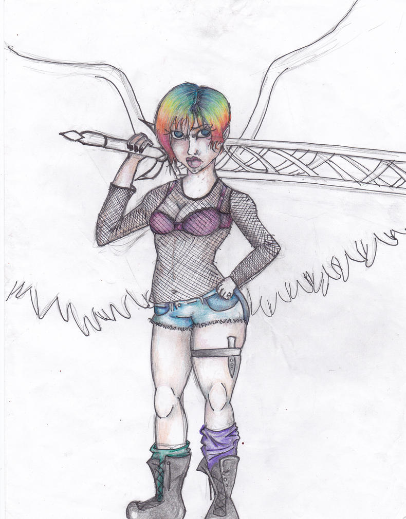 Rainbow Attrocity by TheTrueGypsyQueen