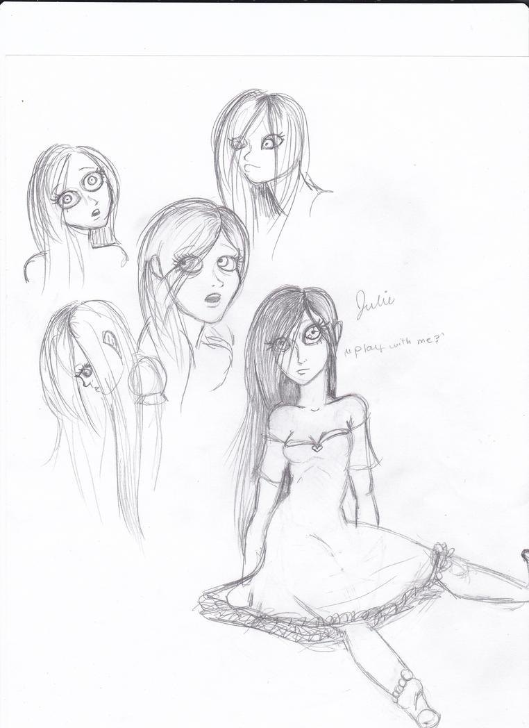 Julie Doodles by TheTrueGypsyQueen