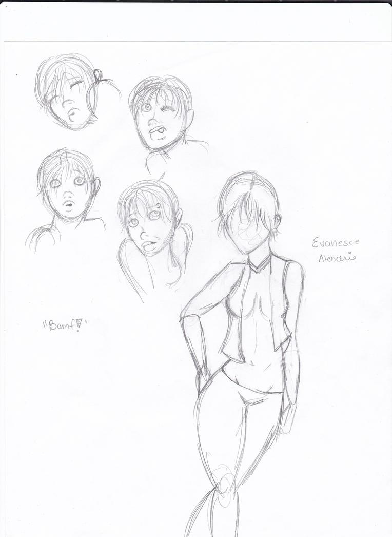 Alendrie Doodles by TheTrueGypsyQueen