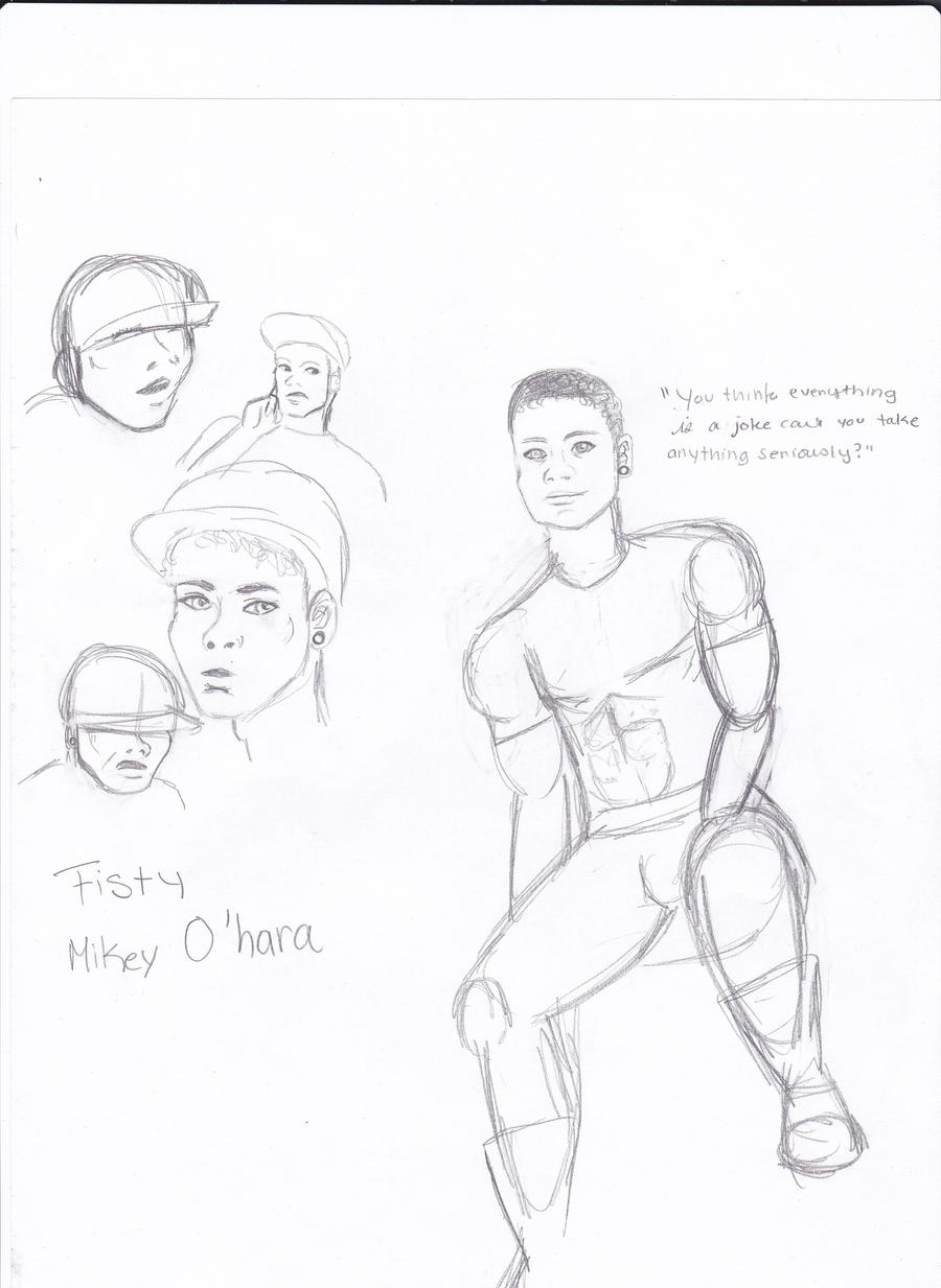 Mikey Doodles by TheTrueGypsyQueen