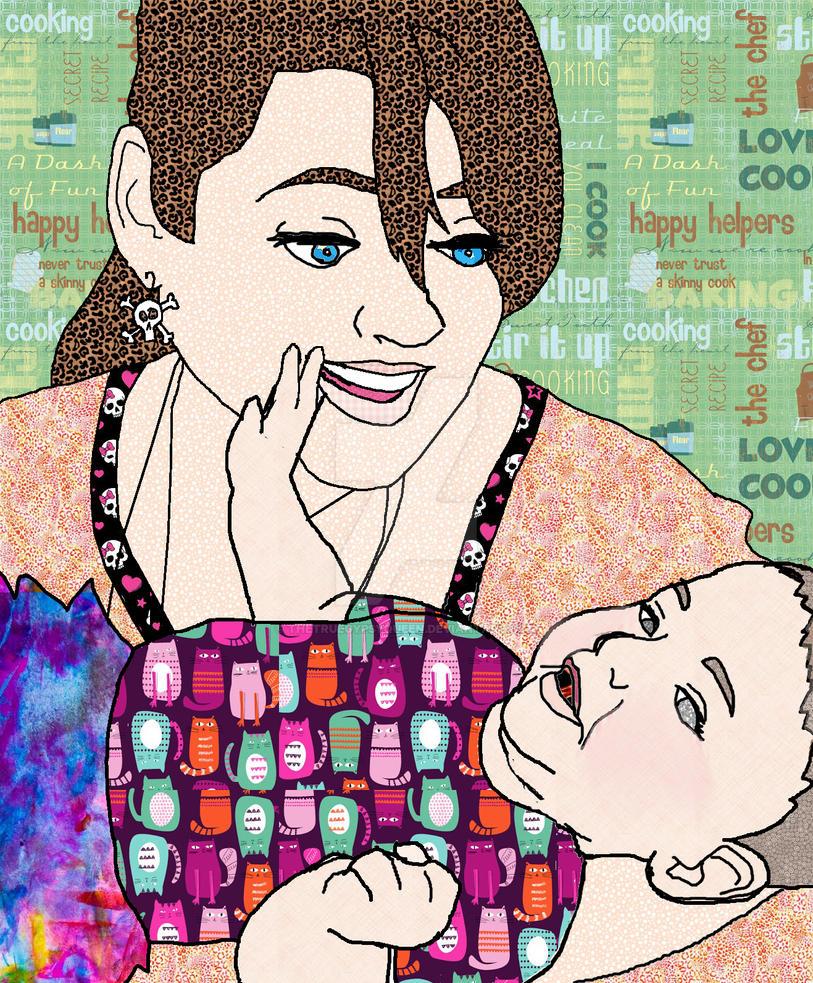 Auntie bday by TheTrueGypsyQueen