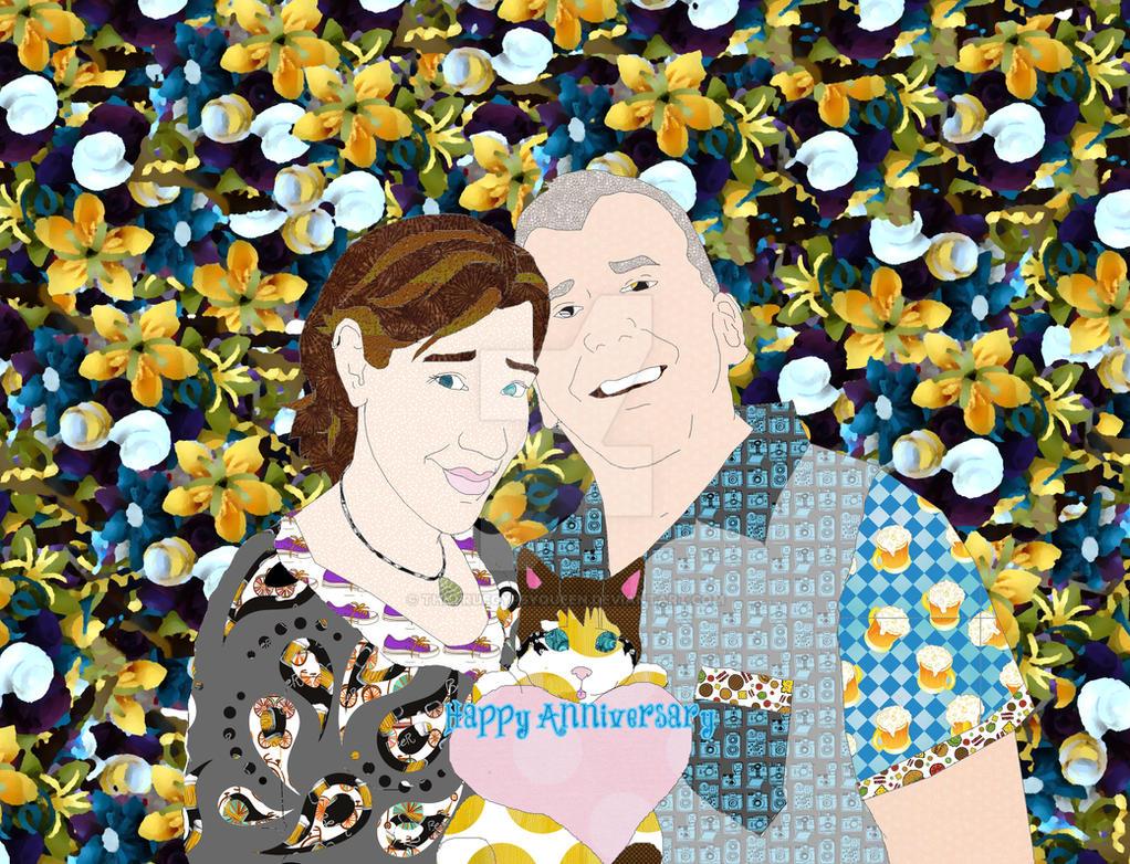 Jen N Billy Anniversary by TheTrueGypsyQueen