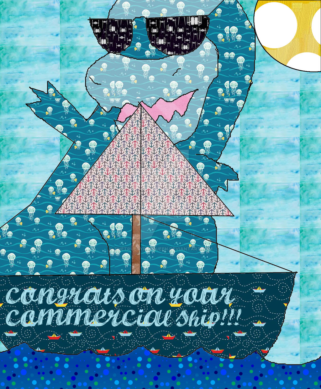 Commercial Ship Card by TheTrueGypsyQueen