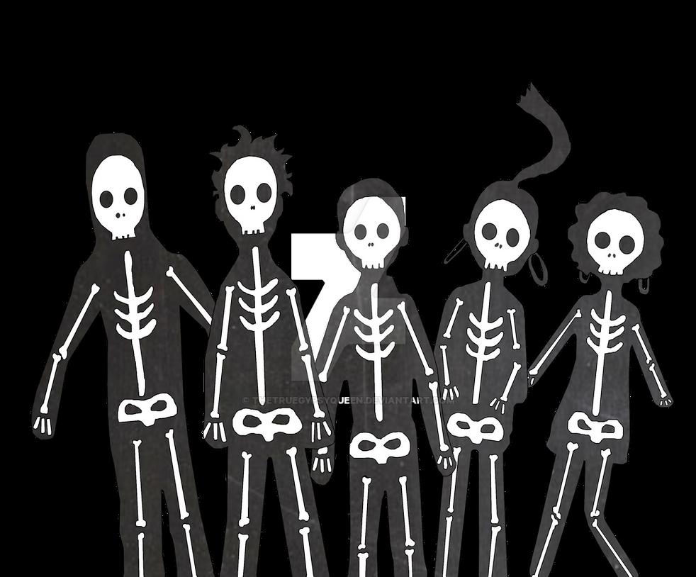 Misfits Silhouette by TheTrueGypsyQueen