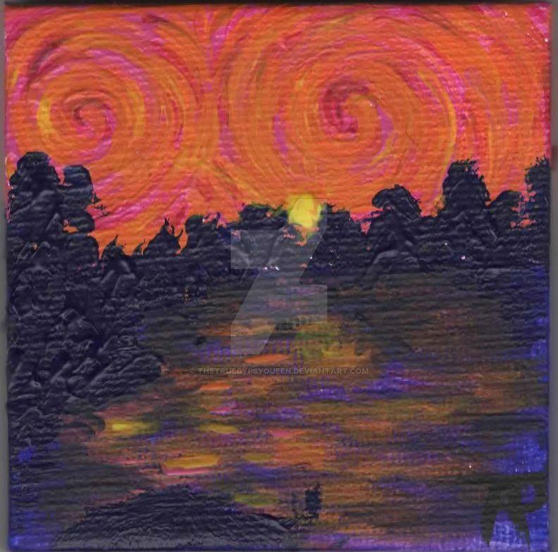 Sky of Fire by TheTrueGypsyQueen