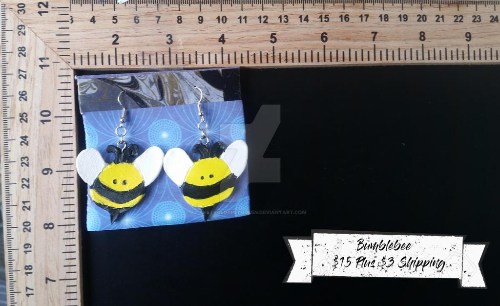 Bumblebees Earrings by TheTrueGypsyQueen