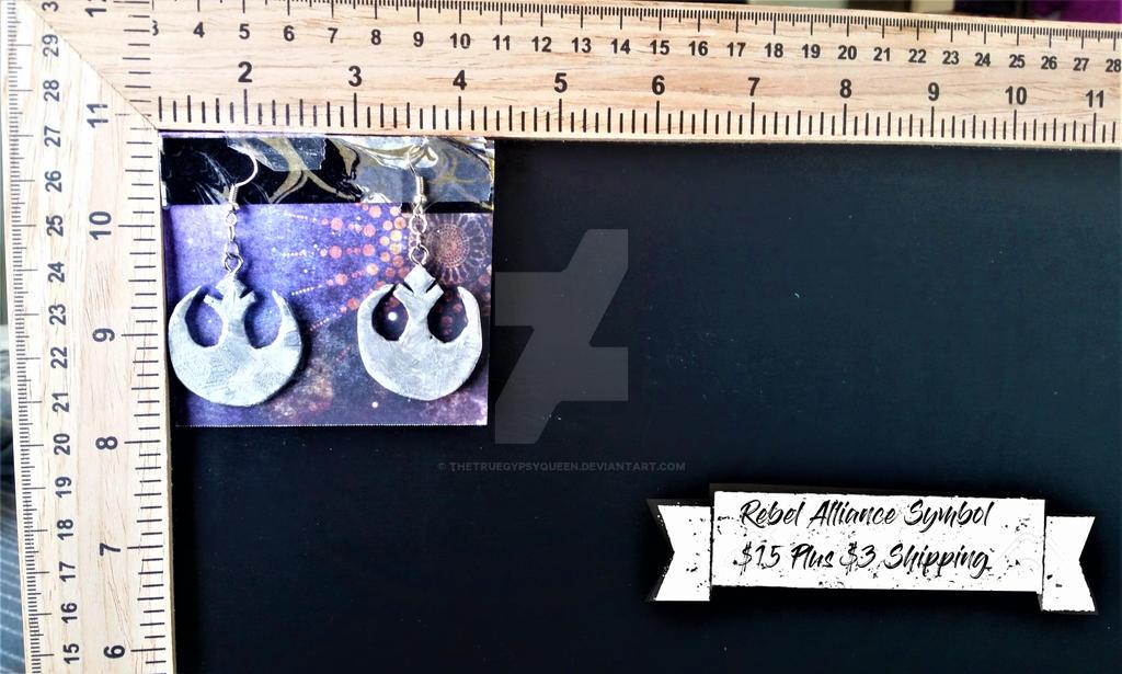 Rebel Earrings by TheTrueGypsyQueen