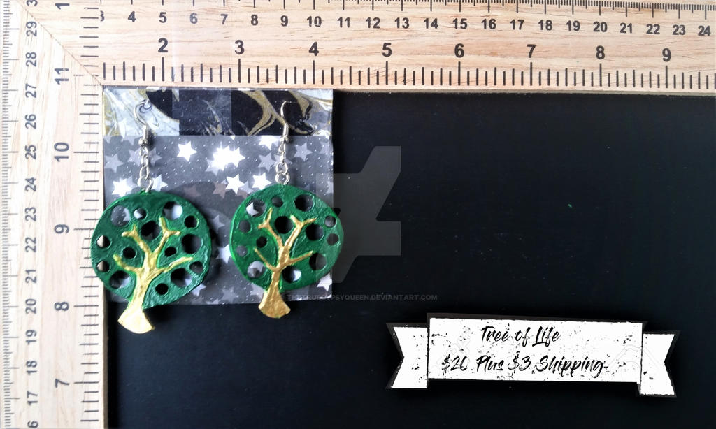Tree of Life Earrings by TheTrueGypsyQueen