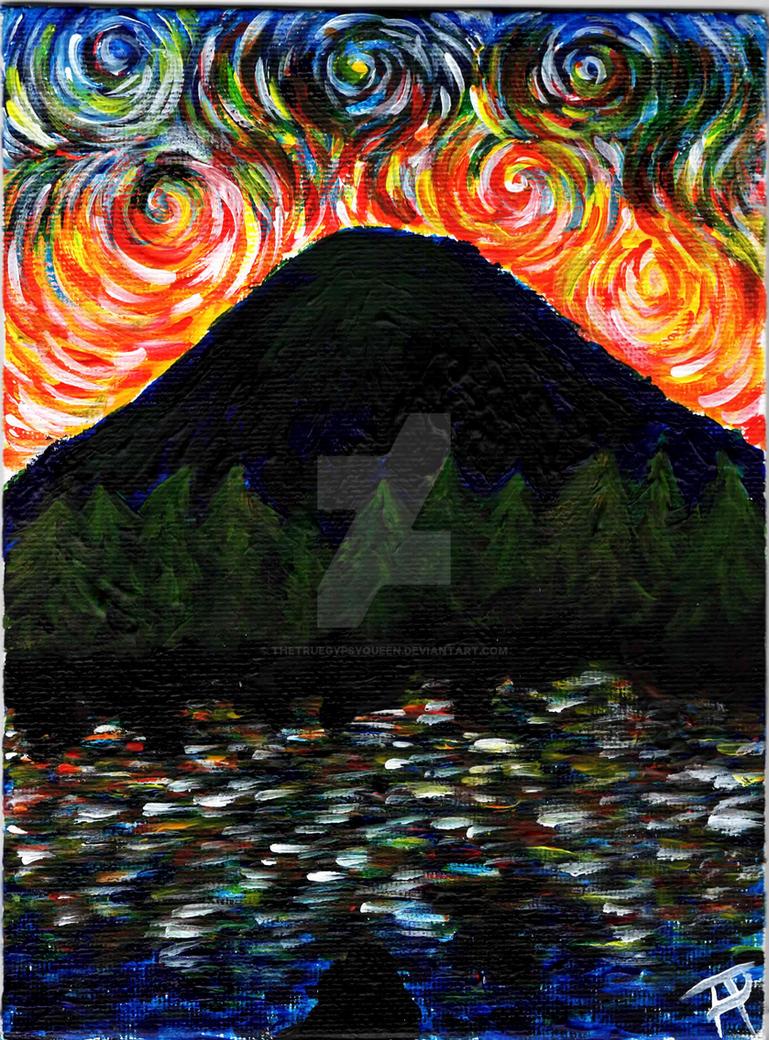 Curls of Sky Fire by TheTrueGypsyQueen