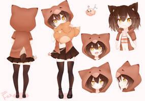 TombieFox Character sheet