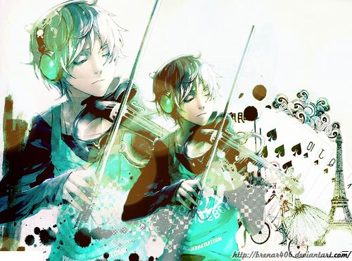 Image Result For Anime Wallpaper Violin