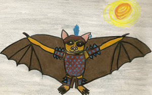 Goldarr:  The Attack Bat I by Aemiis-Zoo