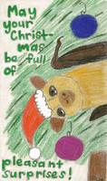 Sunshine Christmas Card by Aemiis-Zoo