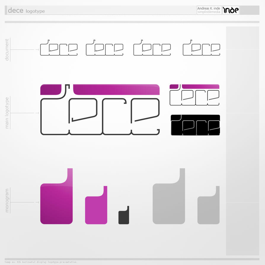dece logotype by inde-blokcrew