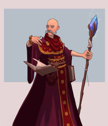 26/30 Old wizard by M-Whistler