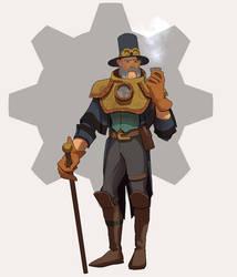 27/30 Steampunk gentleman by M-Whistler
