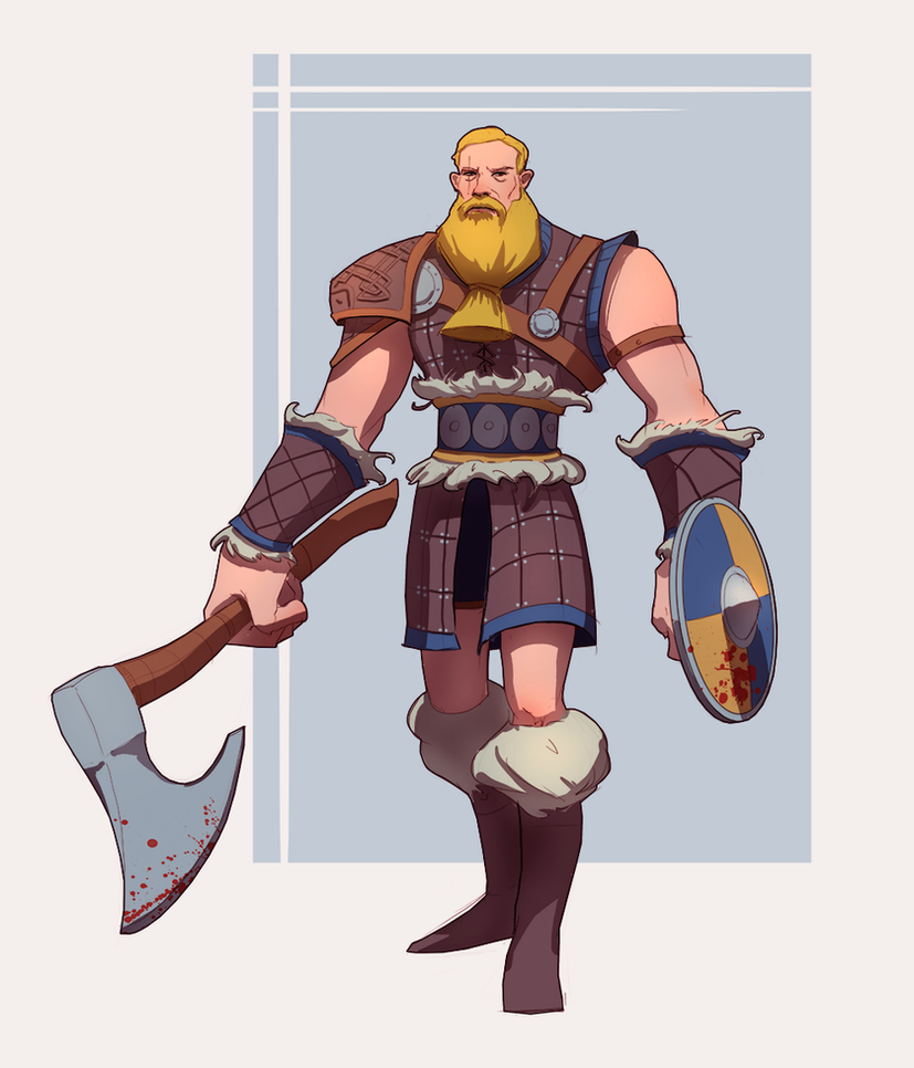 30/30 Viking fighter by M-Whistler
