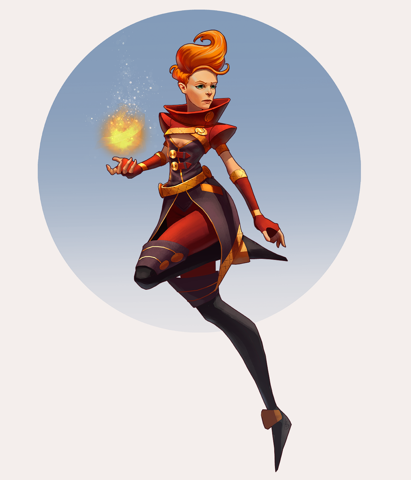 The Firestarter by M-Whistler