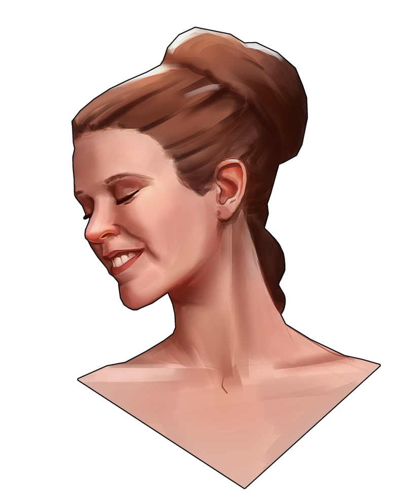 Princess Leia by M-Whistler