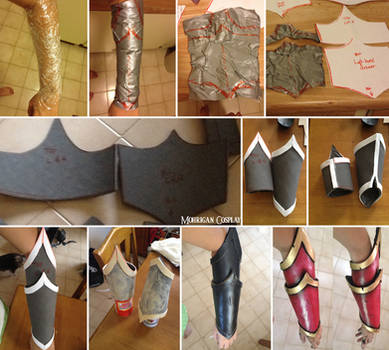 EVA Foam Bracers Tutorial