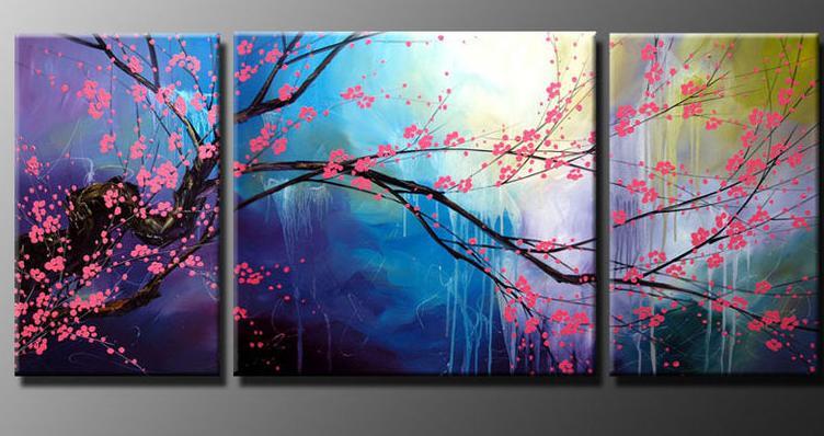 Sakury , maľba