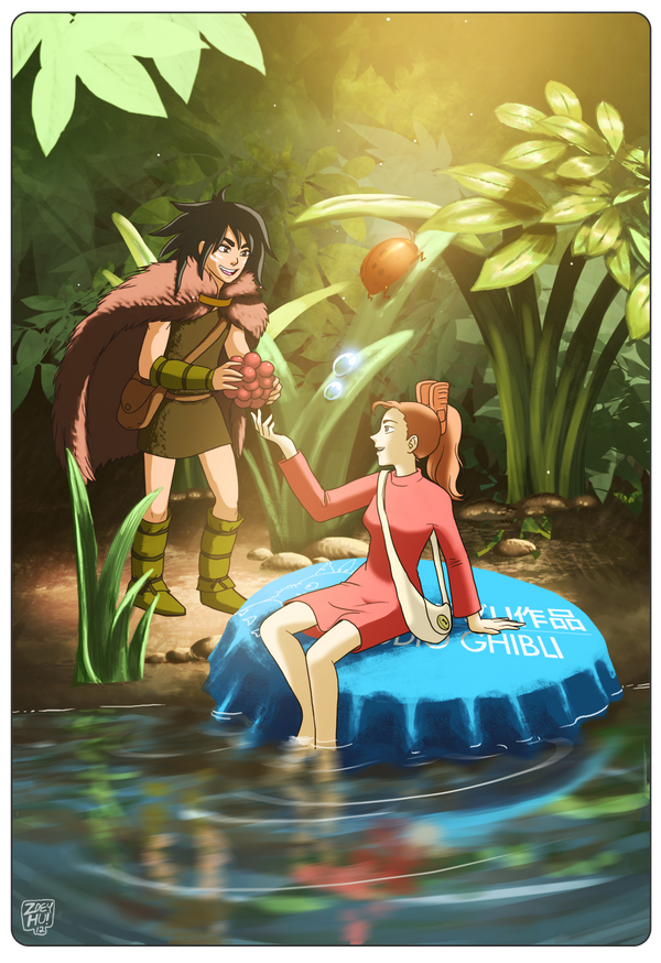 Spiller and Arrietty by ZoeyHuerta