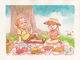 Genaro y Tina
