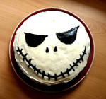 Skull Cake by Ideas-in-the-sky