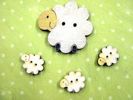 Cute herd of sheeple people by Ideas-in-the-sky
