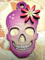 Funky Skull by Ideas-in-the-sky